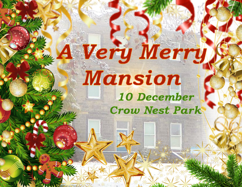 Come to A Very Merry Mansion