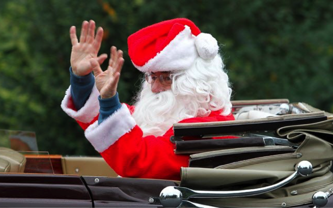 Santa's Coming To Dewsbury Park Mansion